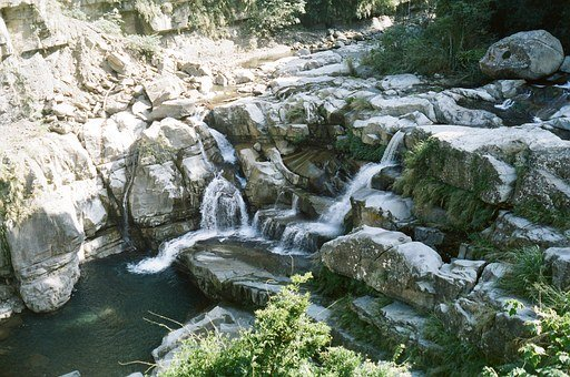 Valley Of The Gods, Falls, Beautiful Port, Miaoli