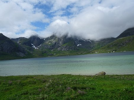Lofoten, Norway, Scandinavia, Mountain, Mountains