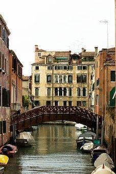 Venetian Canal, Canal Bridge, Old Europe, Venice Canal