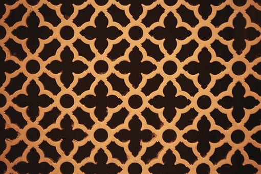 Patterns, Wooden, Brown, Floral, Abstracts, Designs