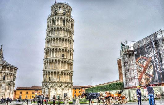 Leaning Tower Of Pisa, Italy, Tuscany, Pisa