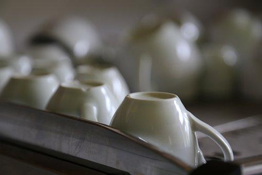 Pocelana, Teacup, Coffee, Cafe, A Cup Of Coffee