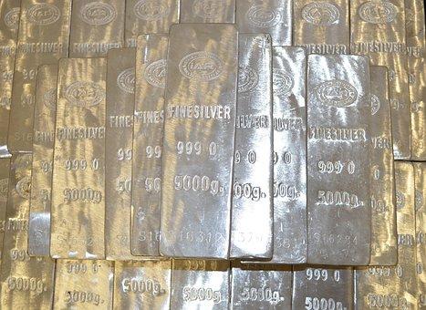 Silver, Bars, 5000 Grams, Real Value