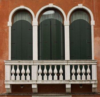 Renaissance Balcony, Balustrade, Balcony, Old Building