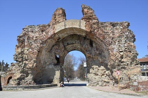 Fortress, Bulgaria, Hissar, Holiday, Gate, Resort