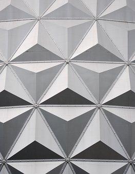 Eurosat, Europa Park, Symmetry, Roof Structure