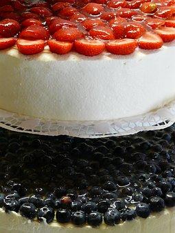 Strawberry Pie, Strawberry Cake, Strawberries, Cream