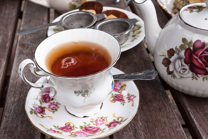 Tee, Service, Earl Gray, Teacup, Teapot, Tea Infuser