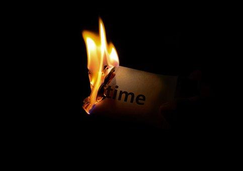 Dark, Fire, Time, Paper, Flame, Heat, Burn