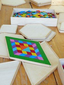 Wooden Toys, Building Blocks, Legematerial