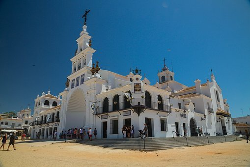 Place Of Pilgrimage, El Rocio, Andalusia, Spain