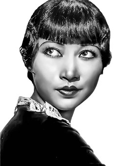 Anna May Wong, Vintage Asian, Female Hollywood Actress