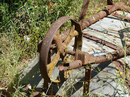 Truck, Bogie, Iron, Abandoned, Rusty, Wheel, Old