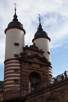 Bridge Port, Heidelberg, Haspeltor, Germany, Tower