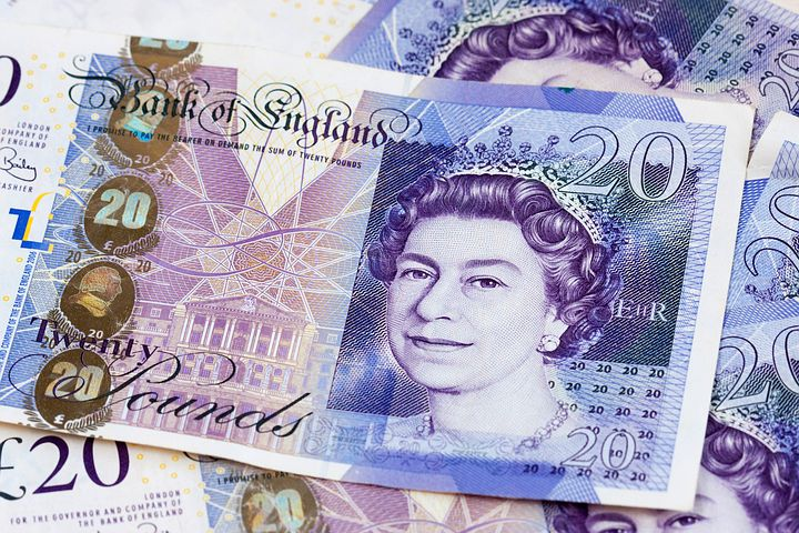 Money, Cash, English, British, Twenty, Twenty Pounds