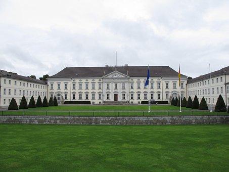 Castle Bellevue, President's Office, Berlin, Castle