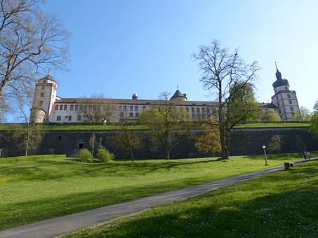 Würzburg, Bavaria, Swiss Francs, Fortress, Castle