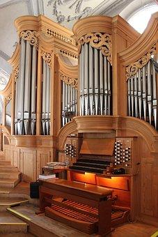 Germany, Wolfratshausen, St Andreas, Church, Organ