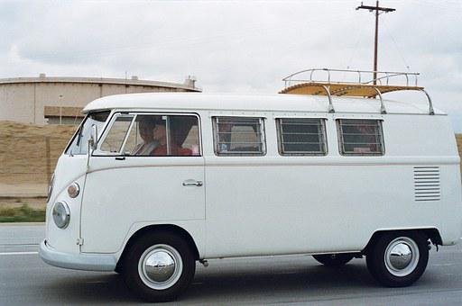 Vw Camper, Minibus, Bus, Volkswagen, Classic Car, Car