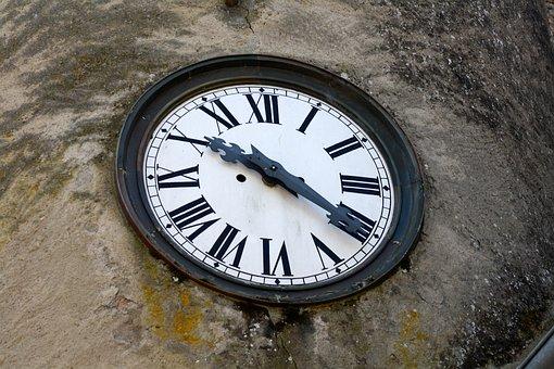Clock Roman Numerals, Building Clock, Time Ten Twenty