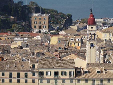 Corfu, Corfu Town, Kerkyra, Buildings, Architecture