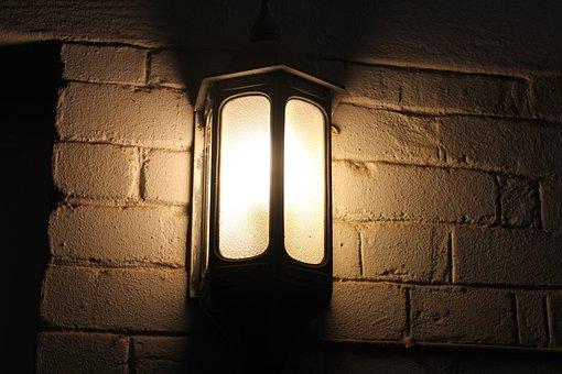 Light, Lamp, Rustic, Fitting, Fixture, Dark, Old