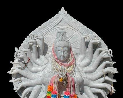 Deity, Twenty Deity, Statue, Stone Figure, Thailand