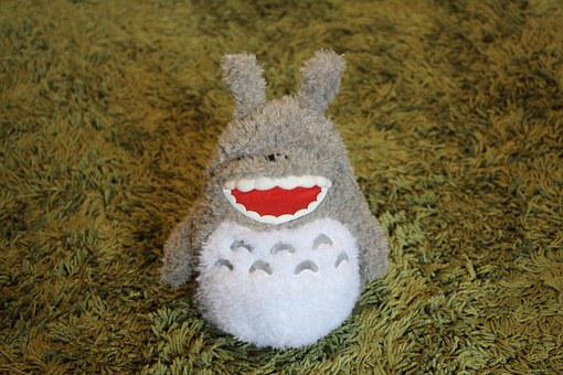 My Neighbor Totoro, Totoro, Hayao Miyazaki, Doll, Toy