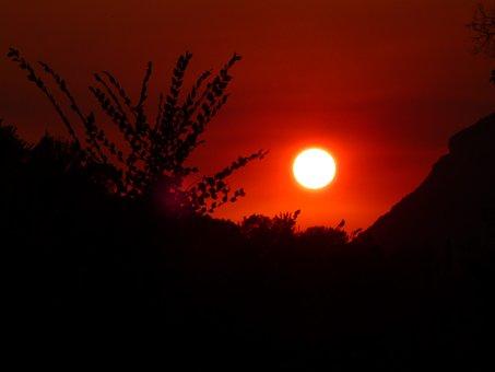 Sunset, Emperors Throne, Corfu