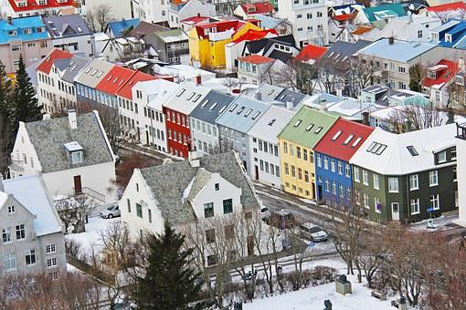 Top View, Icelandic Houses, From The Top, Famous