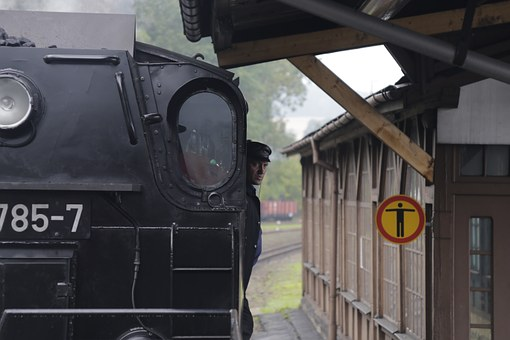 Old Train, Chemnitz, Dresden, Germany, Locomotive