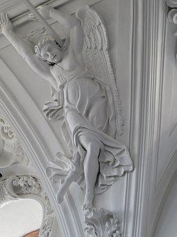 Church, Historically, Angel, Relief, Believe