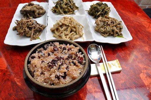 Herbs, Ogokbap, Full Moon, Korean, Food