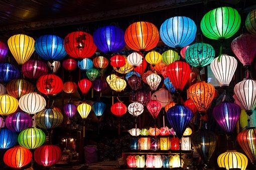 The Lantern, Color, Light, Crafts, Art, Hoi An