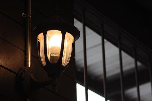 Lamp, Moon Light, The Light, Lighting, Light
