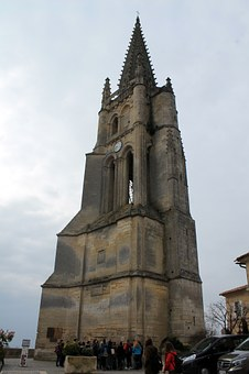 Saint Emilion, France, Gita, Monolithic Church, Church