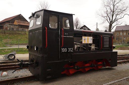Railway, Diesel Loco Motives, Narrow Gauge, Locomotive