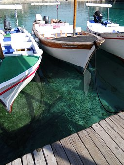 Corfu, Paleokastrista, Greece, Sea, Water, Sun, Boats