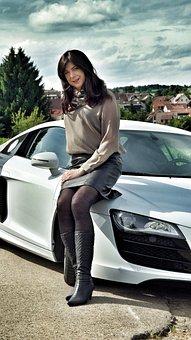 Audi, R8, Pkw, Sport, Sports Car, Landscape, Supercar