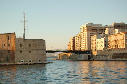 Taranto, Waterway, Pontegirevole