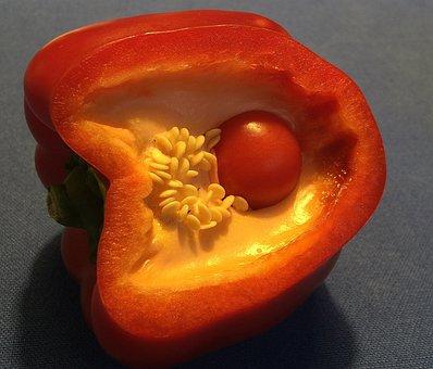 Paprika In Paprika, Paprika, Red, Nature, Vegetables
