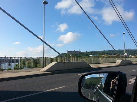Perspective, Würzburg, Russian Fortress, Bridge