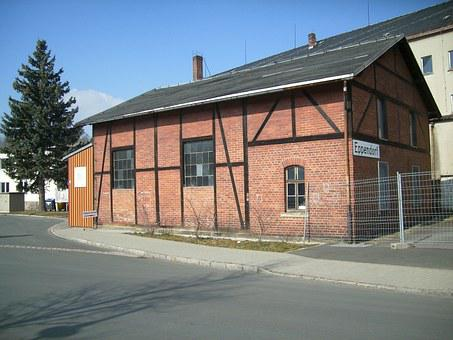 Eppendorf, Saxony, Locomotive Shed, Railway
