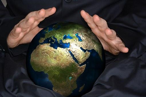 Psychics, Globe, Ball, Séance, Europe, Africa