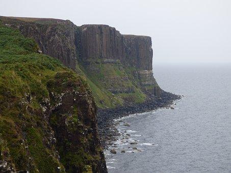 Kilt Rock, Scotland, Uk, Scottish, Rock, Kilt, Celtic