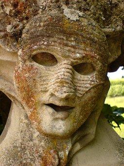 Stone Face, Rokkokogarten, Würzburg