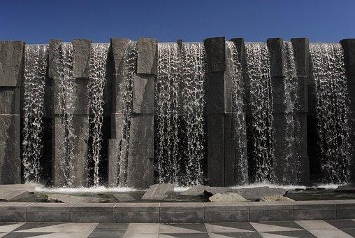 Fountain, San Francisco, Yerba Buena, Architecture