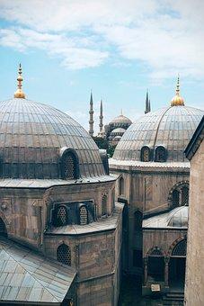 Ancient, Architecture, Building, Clouds, Dome