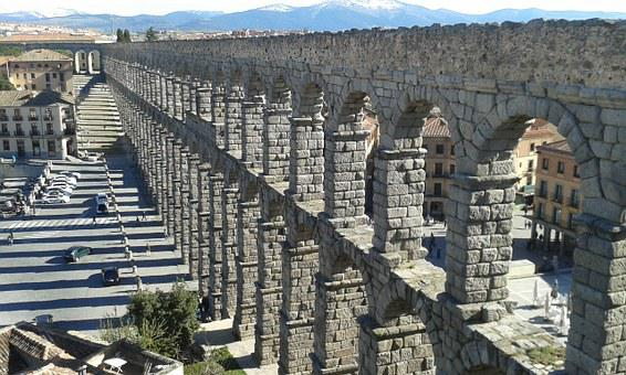 Segovia, Spain, Aqueduct, Roman, History, Monument