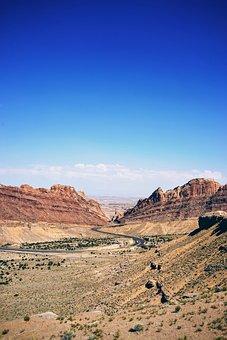 Barren, Desert, Dry, Grand Canyon, Highway, Landscape